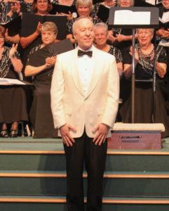 Mark Hayes - white tuxedo